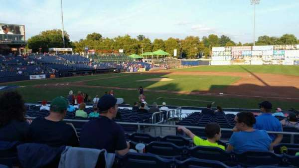 Arm & Hammer Park, section: 203, row: Q, seat: 9