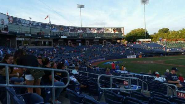 Arm & Hammer Park, section: 203, row: Q, seat: 5