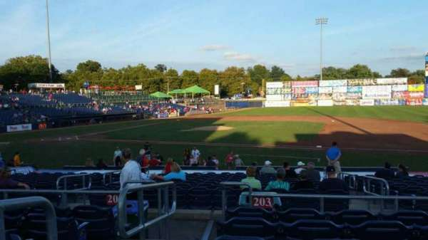 Arm & Hammer Park, section: 203, row: Q, seat: 1