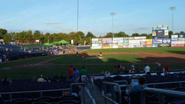 Arm & Hammer Park, section: 205, row: Q, seat: 15