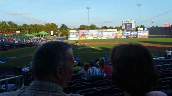 Arm & Hammer Park, section: 205, row: Q, seat: 1
