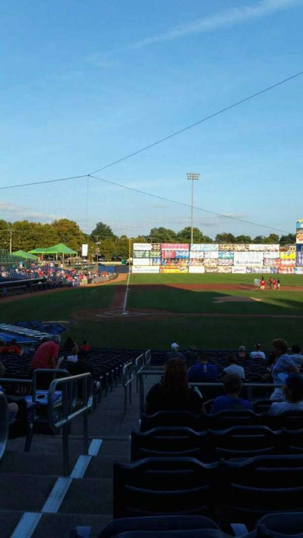 Arm & Hammer Park, section: 206, row: R, seat: 1