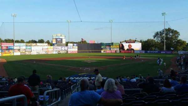 Arm & Hammer Park, section: 209, row: R, seat: 1
