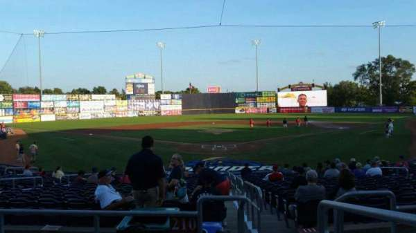 Arm & Hammer Park, section: 210, row: O, seat: 1
