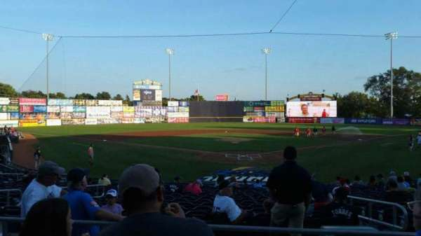 Arm & Hammer Park, section: 210, row: O, seat: 5
