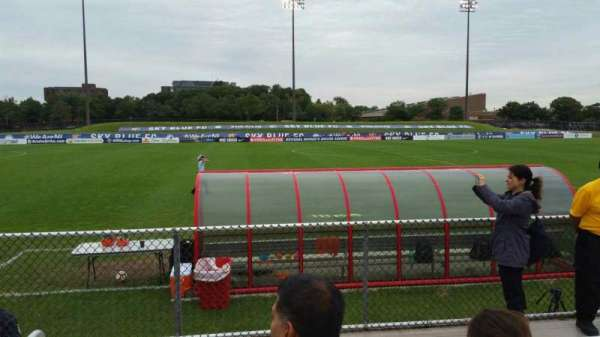 Yurcak Field, section: 6, row: 3, seat: 20