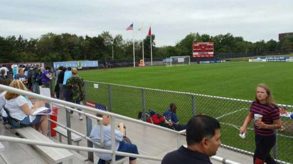 Yurcak Field, section: 6, row: 3, seat: 17
