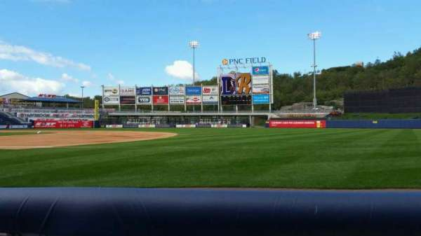PNC Field, section: 14, row: 1, seat: 5