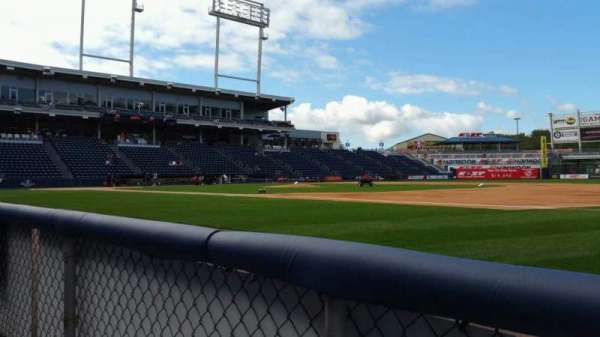 PNC Field, section: 14, row: 1, seat: 10