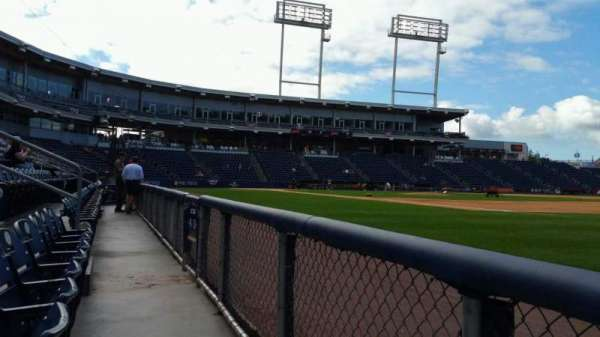PNC Field, section: 13, row: 1, seat: 6