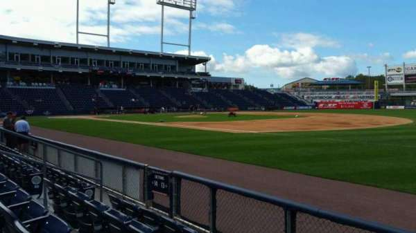 PNC Field, section: 13, row: 4, seat: 6