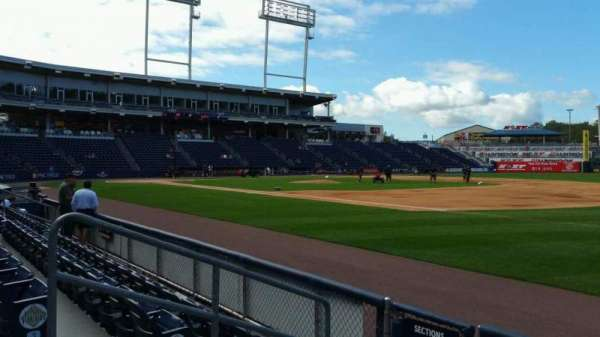 PNC Field, section: 13, row: 4, seat: 12