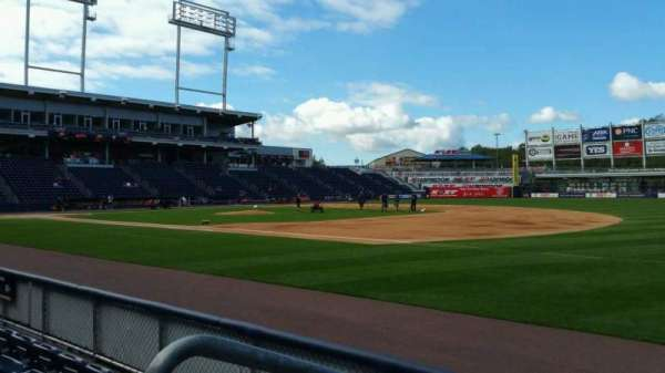 PNC Field, section: 13, row: 4, seat: 16