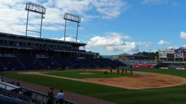 PNC Field, section: 13, row: 9, seat: 16