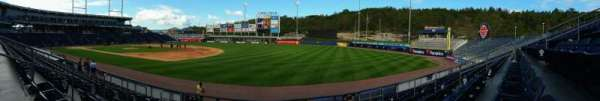 PNC Field, section: 13, row: 9, seat: 10
