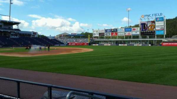 PNC Field, section: 12, row: 5, seat: 16