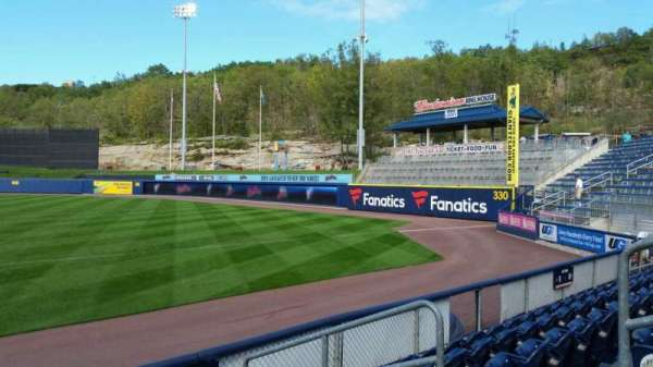 PNC Field, section: 12, row: 5, seat: 5