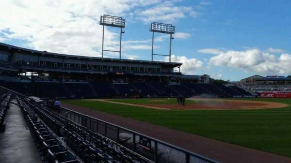 PNC Field, section: 12, row: 5, seat: 1