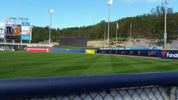 PNC Field, section: 11, row: 1, seat: 16