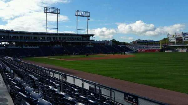 PNC Field, section: 10, row: 7, seat: 1