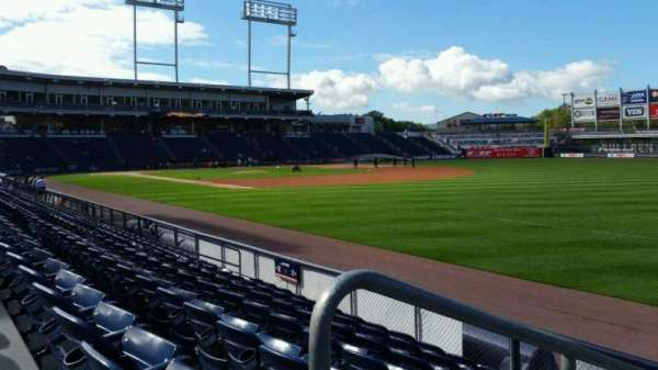 PNC Field, section: 10, row: 7, seat: 11