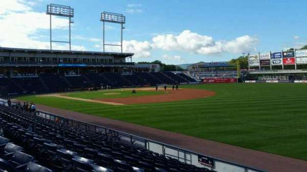 PNC Field, section: 11, row: 12, seat: 1