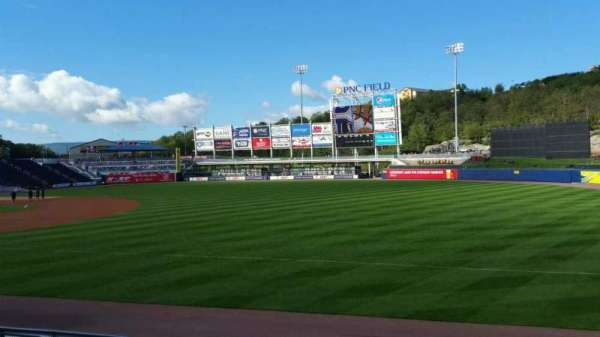 PNC Field, section: 11, row: 12, seat: 5