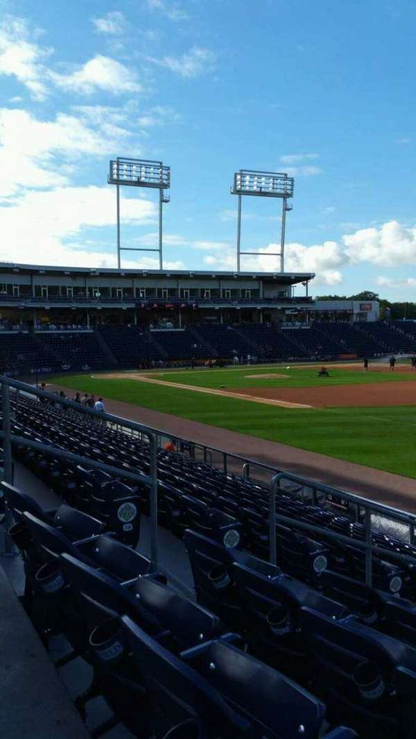 PNC Field, section: 11, row: 12, seat: 10