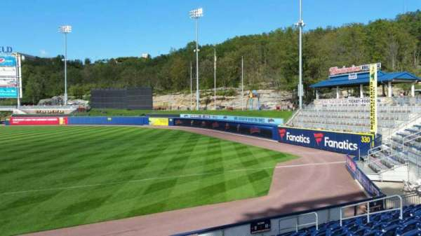 PNC Field, section: 11, row: 12, seat: 16