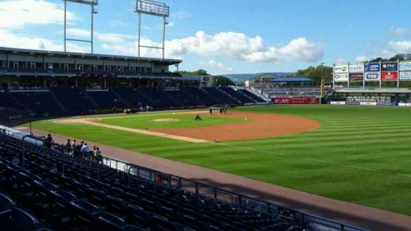 PNC Field, section: 12, row: 15, seat: 1