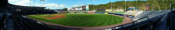 PNC Field, section: 12, row: 15, seat: 4