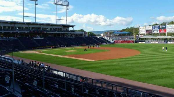 PNC Field, section: 12, row: 15, seat: 9