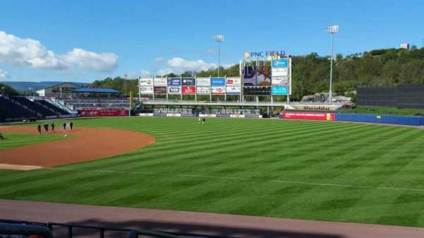 PNC Field, section: 12, row: 15, seat: 16