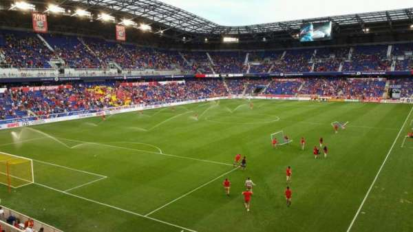 Red Bull Arena, section: 215, row: 1, seat: 27