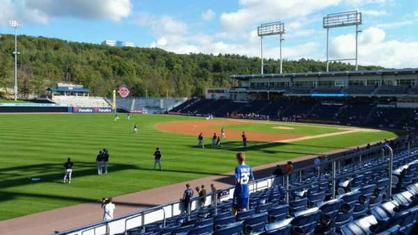 PNC Field, section: 32, row: 14, seat: 11