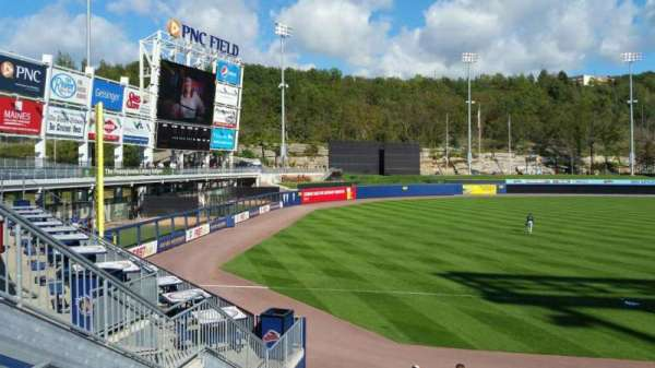 PNC Field, section: 32, row: 14, seat: 7