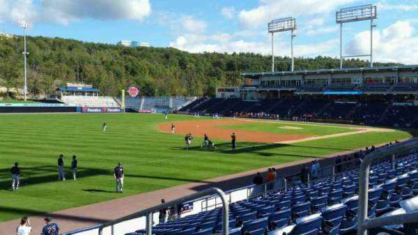 PNC Field, section: 32, row: 14, seat: 3