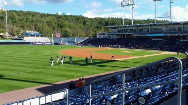 PNC Field, section: 31, row: 13, seat: 4