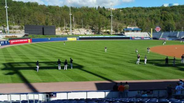 PNC Field, section: 30, row: 15, seat: 12