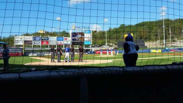 PNC Field, section: 20, row: 1, seat: 4