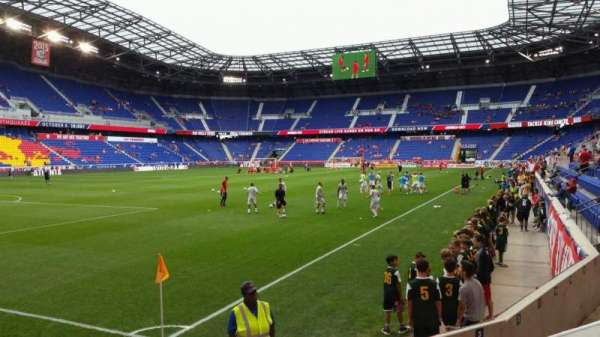 Red Bull Arena, section: 114, row: 4, seat: 13