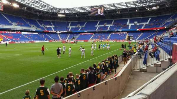 Red Bull Arena, section: 114, row: 4, seat: 6