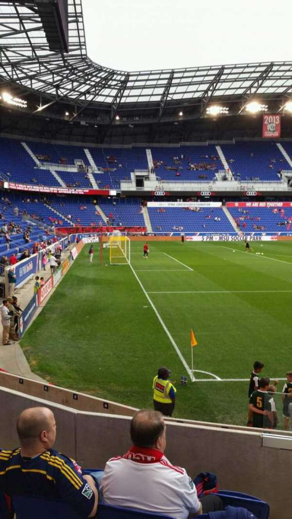 Red Bull Arena, section: 114, row: 8, seat: 1