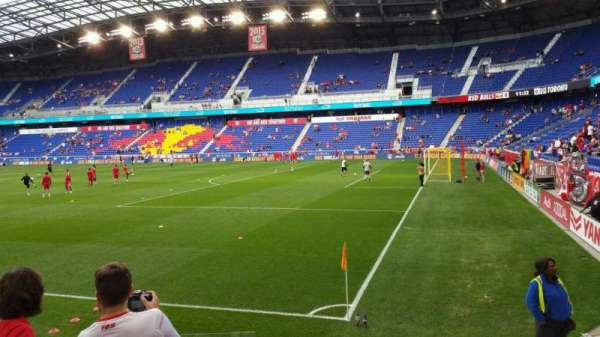 Red Bull Arena, section: 105, row: 5, seat: 14