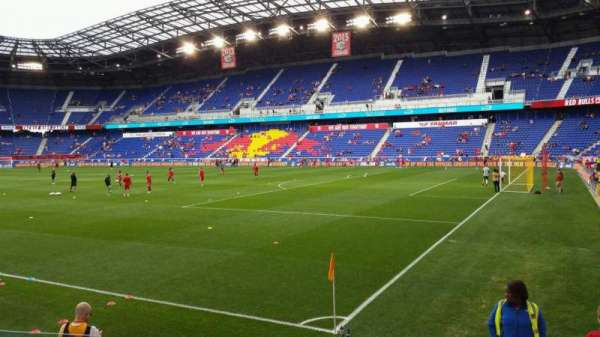 Red Bull Arena, section: 105, row: 5, seat: 10
