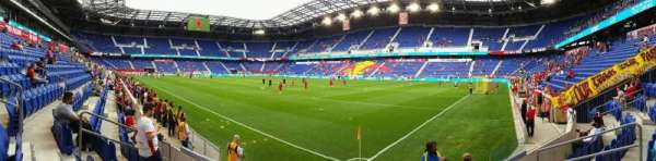 Red Bull Arena, section: 105, row: 5, seat: 7