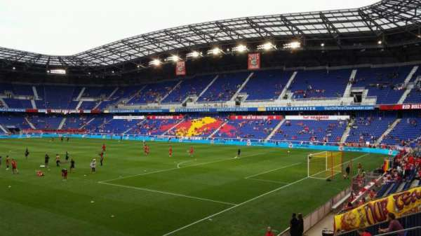 Red Bull Arena, section: 104, row: 12, seat: 17