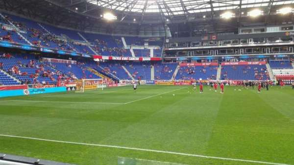 Red Bull Arena Section 127 Home Of New York Red Bulls
