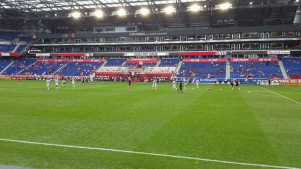 Red Bull Arena, section: 124, row: 3, seat: 30