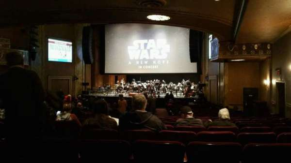 State Theatre New Jersey, section: Orchestra, row: AA, seat: 8